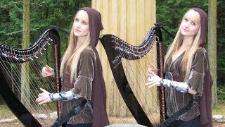Picture of a band or musician: Harp Twins (camille & Kennerly