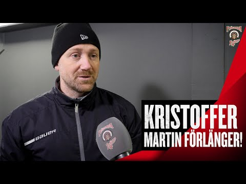 Youtube: Kristoffer Martin kvar till 2025!