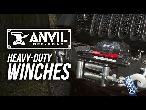 How To Choose an Anvil Off-Road Winch