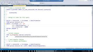 SQL Server Index Tuning – Multi Column Seeking by Amit Bansal