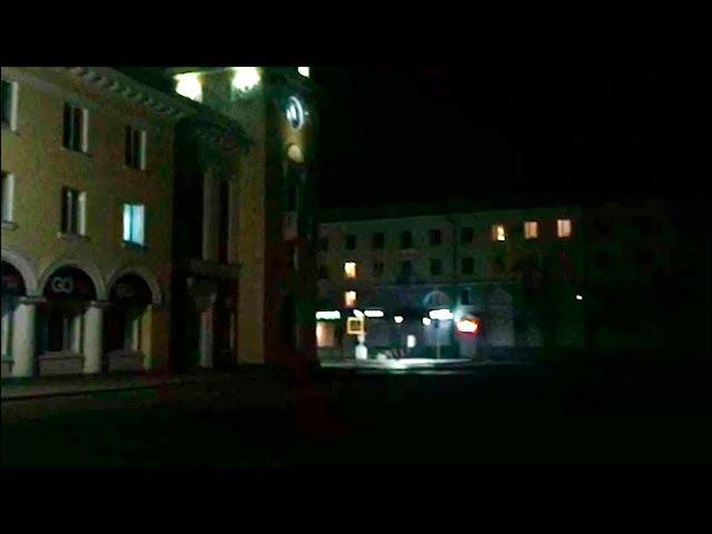 В Ангарске темно