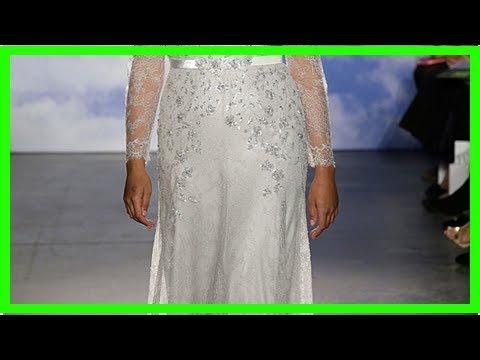 Jenny Packham schickt Plus-Size-Models in Brautkleidern über den Laufsteg
