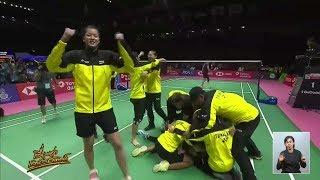 สร้างประวัติศาสตร์! ทีมแบดสาวไทยคว่ำจีน ลิ่วชิงแชมป์ 'อูเบอร์คัพ' ครั้งแรกในรอบ 61 ปี