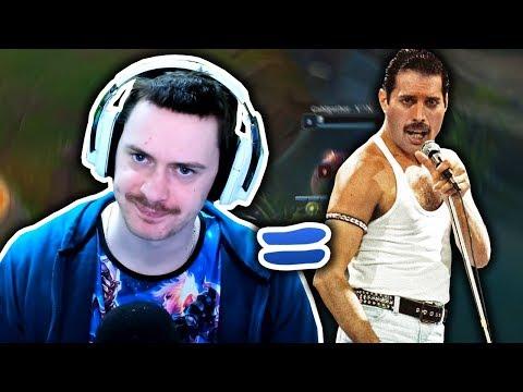 Vypadám jak Freddie Mercury - League of Legends