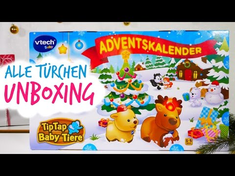 Vtech Adventskalender 2016 Unboxing - alle 24 Türchen