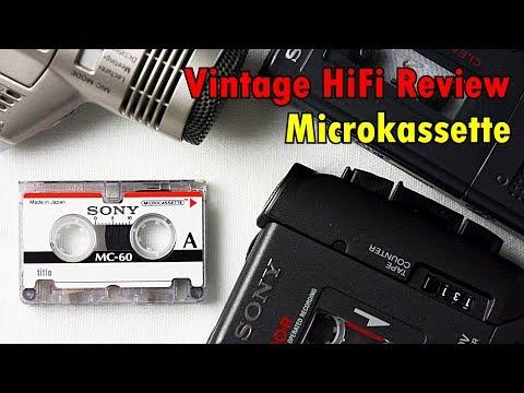 Die Microkassette - oder: Sonys analoge Diktiergeräte