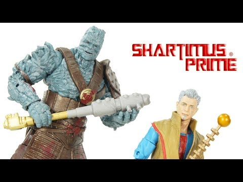 Marvel Legends Korg & Grandmaster 2 Pack Thor Ragnarok Movie Figure Review