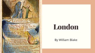 London by William Blake & 18th Century Progressives