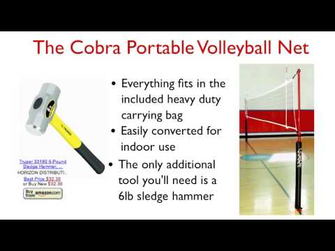 Portable Indoor/Outdoor Volleyball Nets