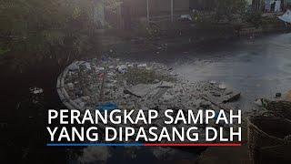 DLH Kota Padang Pasang Perangkap Sampah agar Tidak Sampai ke Laut