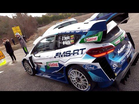 M-Sport Fiesta WRC at Rally Legend 2020 - Launch Control, Burnout, Jumps & Show!