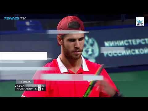 Hot Shot: Khachanov Hammers Forehand Scorcher In Moscow 2018 (видео)