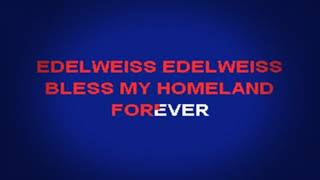 Rodgers and Hammerstein - Edelweiss (Lyrics)