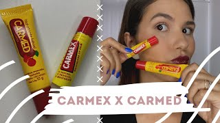 BATALHA: Lip Balm Carmex X Carmed