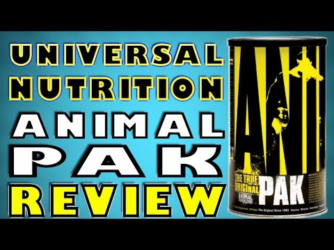Animal Pak By Universal Nutrition Review