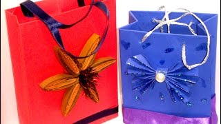 Украшения из бумаги .Handmade.упаковка для  подарков. своими руками.Paper GIFT BAG