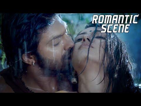 Happy Birthday Catherine Tresa   2018 Hindi Dubbed Romantic Scenes   Kadamban Love Scene