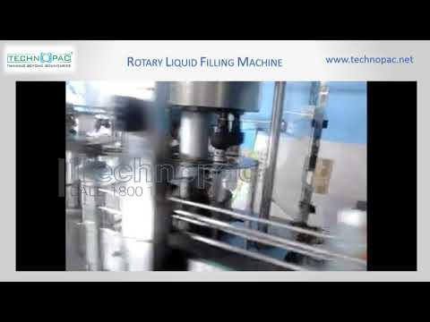 Rotary Juice Filling Machine