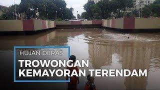 Banjir Merendam Underpass Kemayoran, Warga Sebut Kedalaman hingga Empat Meter