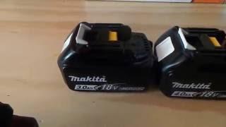 Makita 18v Lithium Ion Battery Review