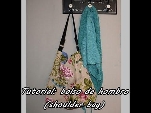 #Tutorial: coser un bolso de hombro (shoulder bag)