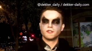 Томас Деккер, Thomas Dekker - New York City - 4/20/2014: talking about his upcoming directing project!
