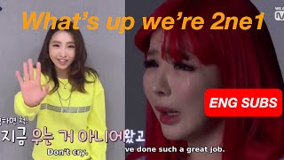 [ENG SUBS] QueenDom EP.10(END) - Minzy's Message to Park Bom (2NE1) || 191031 cut