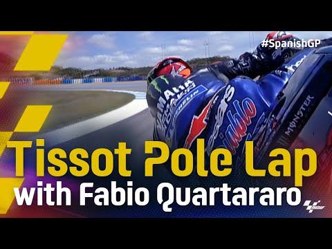 ポールポジションのYAMAHAのファビオのオンボード映像 MotoGP 2021 第4戦スペインGP
