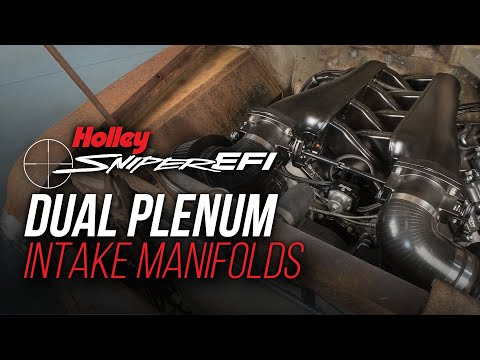 Sniper Dual Plenum Fabricated Intake Manifolds for LS Engines