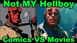 Not MY Hellboy: Comics vs Movies