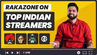 RakaZone Gaming on Top Indian Streamers