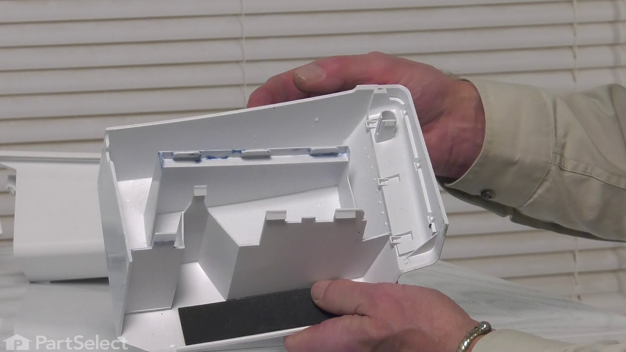 Replacing your Kenmore Washer Detergent Dispenser Drawer