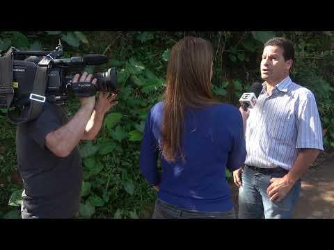 Wagnew o fiscal do Povo fala com a Globo sobre a Represa do Calazan e aponta culpados .