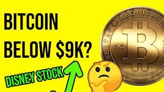Will BITCOIN keep dropping? Disney stock surging!