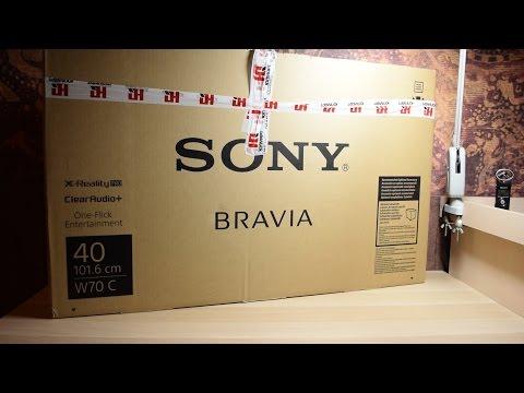 Sony KDL-40W705C - Обзор