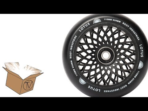 Root Industries Lotus Wheels - Unboxing and Review │ The Vault Pro Scooters