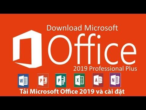 Hướng dẫn tải file cài đặt Microsoft Office 2019 từ trang chủ và cài đặt
