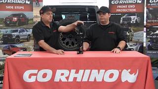 Go Rhino (372000T): Rockline Spare Tire Relocation Kit for Jeep Wrangler JL