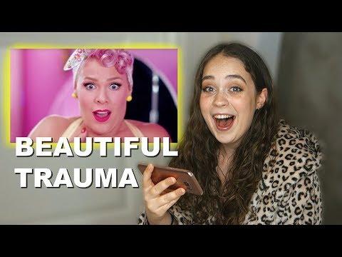 P!nk - Beautiful Trauma Music Video (REACTION)