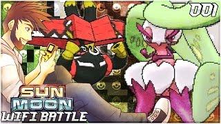 Let The Battles Begin Vs Patterrz! | Pokemon Sun & Moon Live Wifi Battle W/ ShadyPenguinn [001]