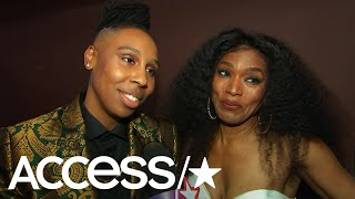 Lena Waithe & Angela Bassett On The 'Black Panther' Phenom: 'It's About Time!' | Access