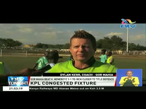 Gor Mahia edge closer to title defence after a 3-1 win over Kakamega Homeboyz