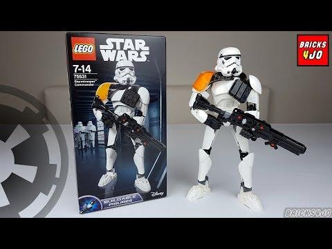 LEGO 75531 Star Wars Stormtrooper Commander (+ Unboxing) - Review deutsch -