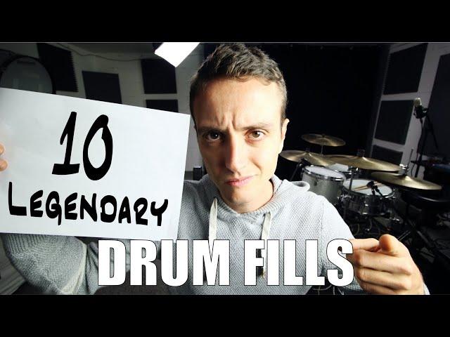10 Legendary Drum Fills - Daily Drum Lesson