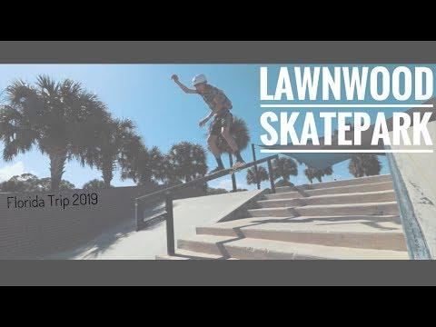 Lawnwood SkatePark | Ft Pierce, FL | March 2019