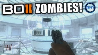 "Black Ops 2 ZOMBIES ""Tranzit"" Gameplay - POWER - How to turn on/Location! - Green Run Map"