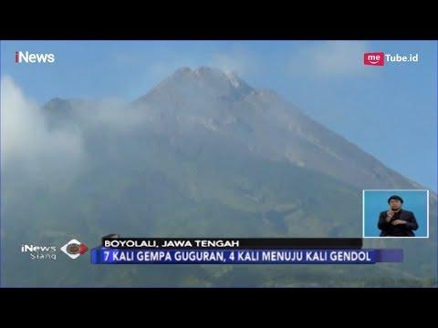 Gunung Merapi Luncurkan Empat Kali Guguran Lava ke Kali Gendol - iNews Siang 27/02