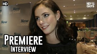 Kaya Scodelario Interview - Now Is Good Premiere