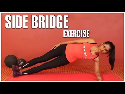 SIDE BRIDGE Exercise For Women | How To