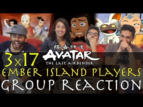 Avatar: The Last Airbender -  3x17 Ember Island Players - Group Reaction